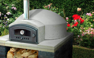vitcas wood fired pizza oven garden