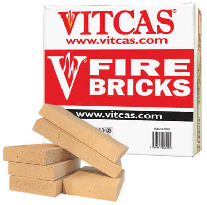 Vitcas® Fire Bricks Replacement Pack