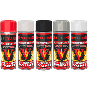 Heat Resistant Paint Spray - Vitcas